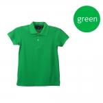 เสื้อโปโลหญิงสีเขียว
