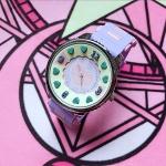 นาฬิกา Swimmer (สีม่วง)