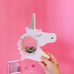 กระปุก Unicorn (สีขาว)