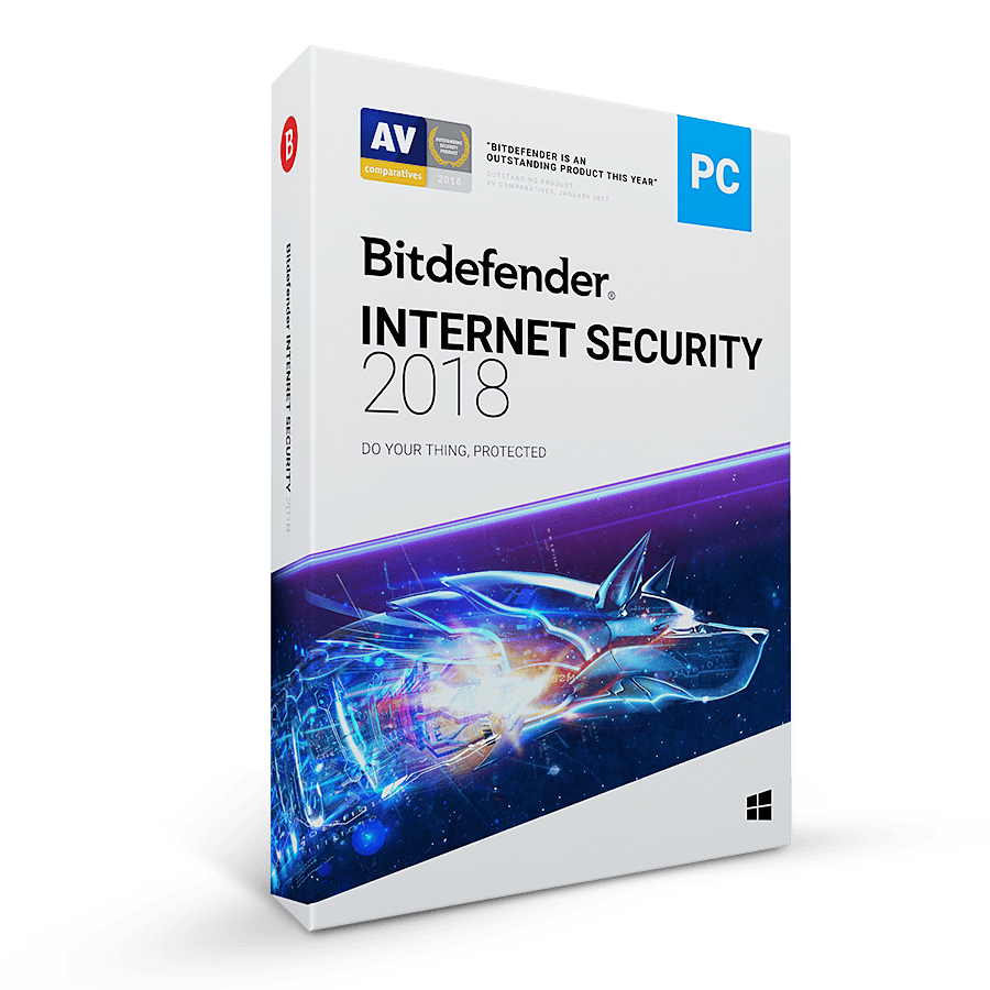 Bitdefender Internet Security 2018 (1 Year , 1 PC)