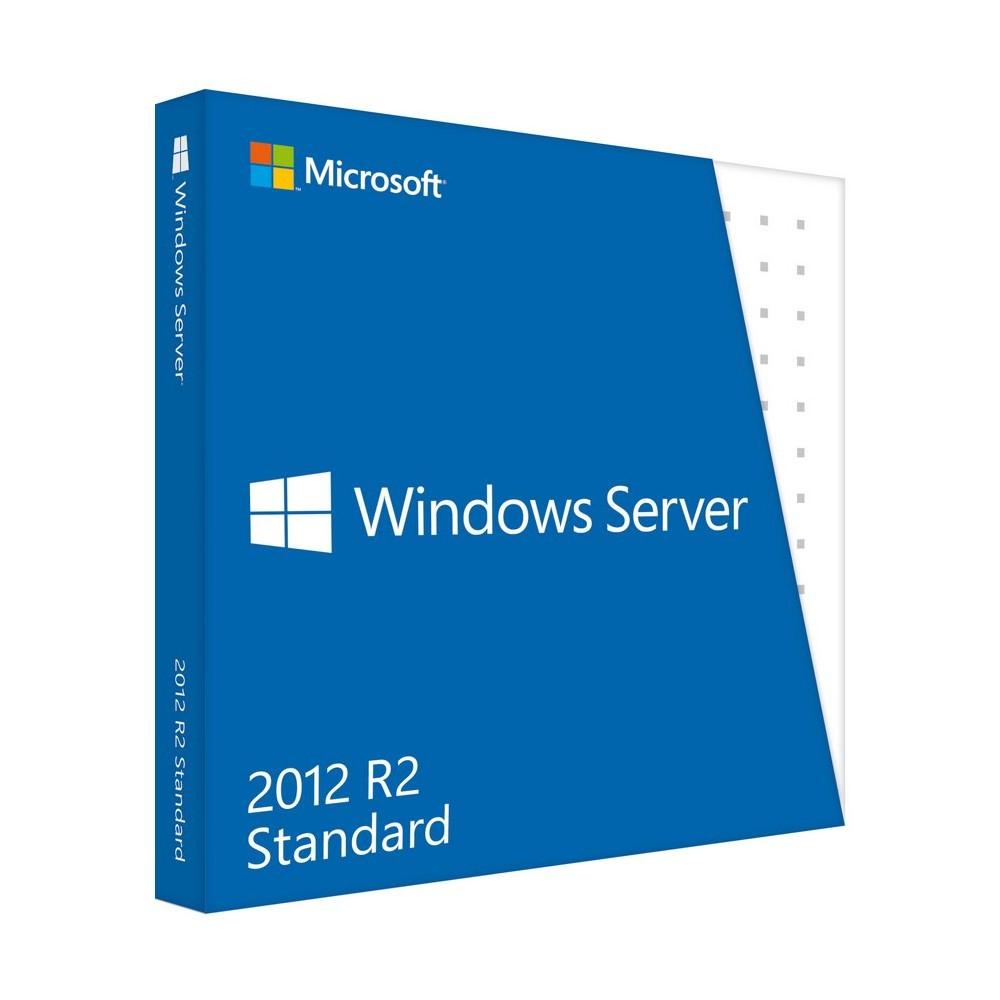 WINDOWS SERVER STANDARD: WINDOWS SERVER STANDARD 2012 R2 64BIT ENGLISH DVD 10 CLT