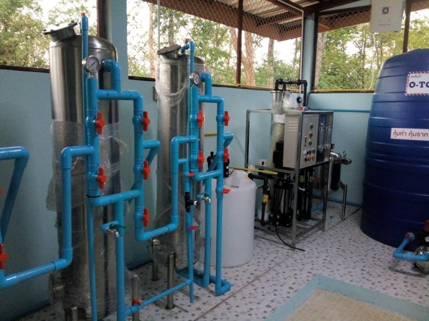 รับติดตั้งโรงงานน้ำดื่มบรรจุขวด 3,000 ลิตร/วัน