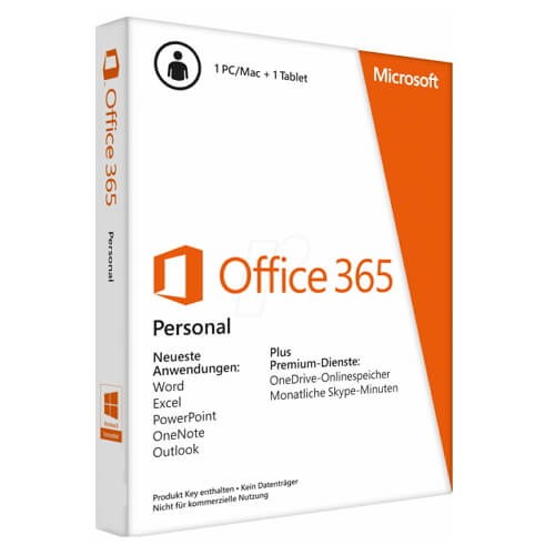 Microsoft Office 365 Home English APAC EM Subscr 1YR Medialess P2