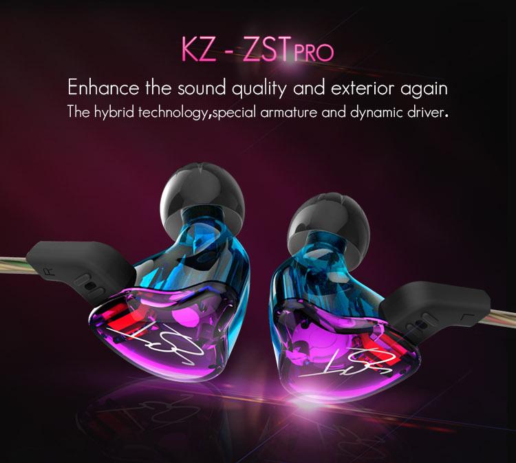 Kz ZST Colorful / Mic