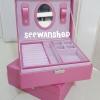 กล่องใส่เครื่องประดับ สีชมพู
