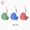 TFZ King Pro หูฟัง HiFi ไดร์เวอร์ graphene สายถักOFC ระดับ5N