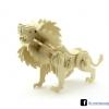 ตัวต่อไม้ 3 มิติ จิ้กซอว์ไม้ ตัวต่อไม้สิงโต 3D Animal Puzzle
