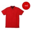 เสื้อโปโลชายสีแดง