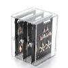 กล่องเก็บต่างหูอะคริลิค สีดำ