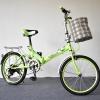 จักรยานพับได้ FUSJIN CLASSIC BIKE ล้อ 20 นิ้ว สีเขียว