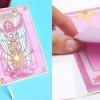 จับคู่ สมุดโน๊ต / กระดาษโน๊ต ลายการ์ตูนซากุระ