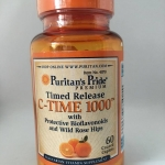 Puritan C-time release 1000 mg พูริแทน ซีไทม์ รีริส 1000