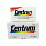 เซนทรัม วิตามินและเกลือแร่รวมที่จำเป็น 29 ชนิด พร้อมเบต้า-แคโรทีน