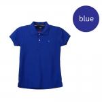 เสื้อโปโลหญิงสีน้ำเงิน