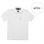 เสื้อโปโลชายสีขาว