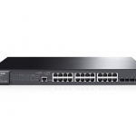TP-Link JetStream 24-Port Gigabit L2 Managed Switch with 4 SFP Slots T2600G-28TS (TL-SG3424)