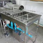 เครื่องล้างขวด + ล้างถัง (มีปั๊ม)