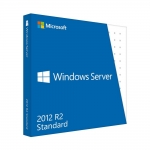 WINDOWS SERVER STANDARD: WINDOWS SEVER STANDARD 2012 R2 64BIT ENGLISH DVD 5 CLT