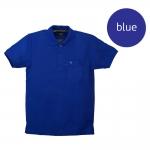 เสื้อโปโลชายสีน้ำเงิน
