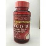 Puritan Co Q10 plus resveratrol and grapeseed พูริแทน, โคคิวเทน พลัส เรสเวอราทอล และ สารสกัดจากเมล็ดองุ่น