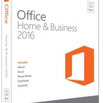 Microsoft Office Home and Business 2016 for Mac: Office Home and Business 2016 32-bit/x64 English APAC EM DVD w/Thai SLP