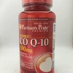 Puritan Co Q10 100 mg 120 เม็ด พูริแทน โคคิวเทน