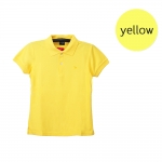 เสื้อโปโลหญิงสีเหลือง