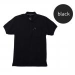 เสื้อโปโลชายสีดำ