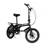 จักรยานพับได้ GLANK รุ่น Twin Cycle สีดำ