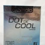 ถุงยางอนามัย โอกาโมโต ดอท เดะ คูล okamoto dot de cool condom บรรจุ 2 ชิ้น