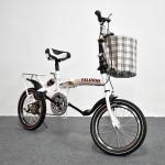 จักรยานพับได้ YALUCHI SPORT BIKE 16-นิ้ว สีขาว