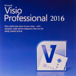 MICROSOFT VISIO PROFESSIONAL: VISIO PRO 2016 32-BIT/X64 ENGLISH EM DVD