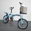 จักรยานพับได้ YALUCHI SPORT BIKE 16-นิ้ว สีฟ้า