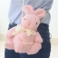 กระเป๋าตุ๊กตากระต่าย สีชมพู