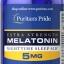 หลับสบาย ผ่อนคลายความตึงเครียด Puritan's Pride Melatonin 5 mg ขนาด 120 tablets thumbnail 1