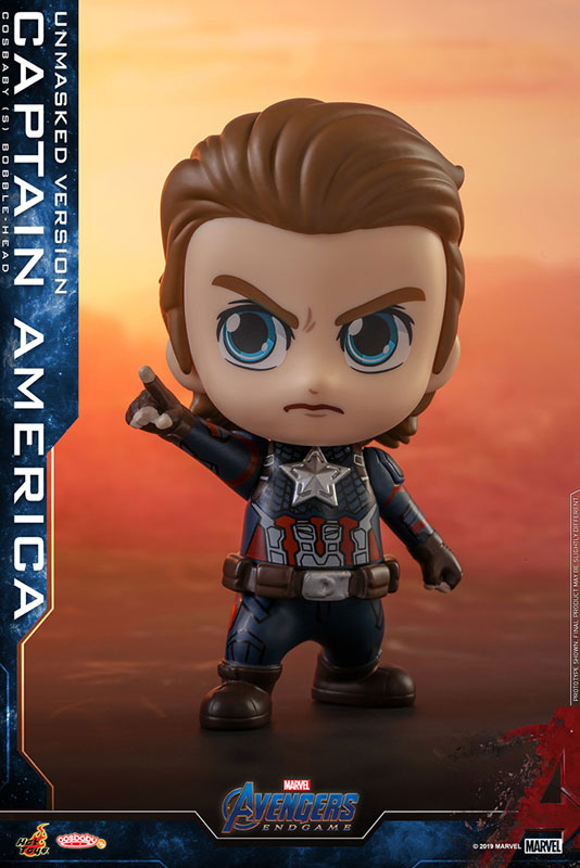 Avengers : Endgame - CosBaby Size S Captain America Unmasked Ver ...