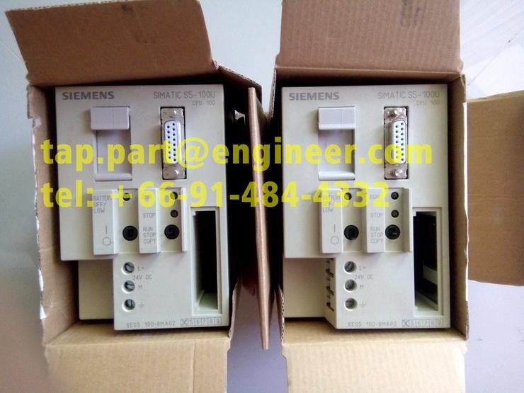 Siemens 6ES5100-8MA02 Simatic S5 6ES5 100-8MA02 E:02