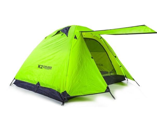 K2 Explorer สีเขียว (นอน 2 - 3 คน)