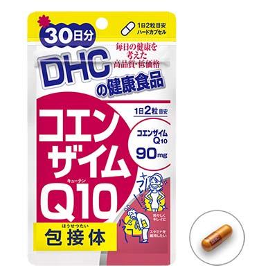 ห ม ด ค่ะ DHC โคเอนไซม์ Q10 ( 30 วัน) ชะลอความแก่จากแสงแดด ริ้วรอยต่างๆสามารถลดลง ทำให้ผิวแน่น ยืดหยุ่นได้ดี ต้านอนุมูลอิสระ