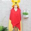 หมวกผ้าห่ม หมีพูห์ สีเหลือง