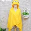 หมวกผ้าห่ม มินเนี่ยน สีเหลือง