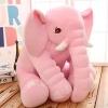 หมอนผ้าห่มแยกชิ้น ช้างน้อย สีชมพู ตัวใหญ่