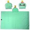 หมวกผ้าห่ม สครัมพ์ สีเขียวมิ้น