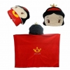 หมวกผ้าห่ม เจ้าหญิงสโนไวท์ สีแดง