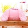 หมอนอิงตุ๊กตา กระต่าย สีชมพู หูยาว มีซุกได้