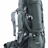 Deuter Aircontact 45+10 (Granite Black)