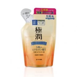 Hada Labo Premium Lotion รีวิว 170ml.(ทำในญี่ปุ่น) ฮาดะ ลาโบะ โลชั่น สีทอง สูตรพรีเมี่ยม แบบถุงรีฟิล ฟื้นฟูผิวเสีย ผิวโทรม มี Hyaluronic ถึง 5 ชนิด