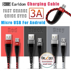 Earldom EC-022 Micro USB Charger Cable 3A