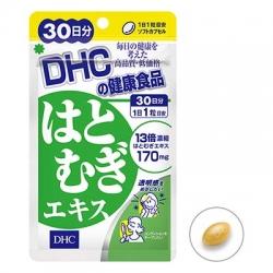 มีรีวิว DHC Hatomugi (30วัน) ผิวกระจ่างใส เรียบเนียน แนะนำทานคู่กับวิตามินอีเพื่อกลับมาสาวใสอีกครั้ง .. ฮะโทะมุกิ มักนำมาเป็นเครื่องสำอางชั้นสูงราคาแพงของญี่ปุ่น ของแท้ขายถูกสุดๆ30 วัน แค่ 280 บาท