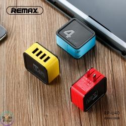 หัวชาร์จไฟ 4 ช่องชาร์จ Remax RP-U40 4USB 3.4A